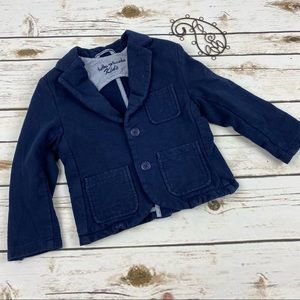Tutto Piccolo Blazer Blue 36 Months Long Sleeve